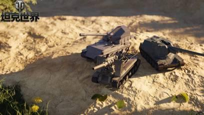 天降铁拳新姿势!《坦克世界》自行火炮改动前瞻爆料