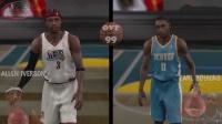 《NBA2K1 - NBA2K19》历代速度最快的球员