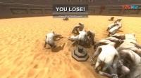 《野兽战斗模拟》游戏实况解说视频合集第三章  极限单杀! 猪仔杀死霸王龙