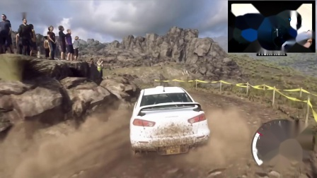 《尘埃拉力赛2.0》三菱Lancer Evo X阿根廷赛道试玩演示