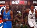 NBA 2K15圣诞大战-马刺VS雷霆