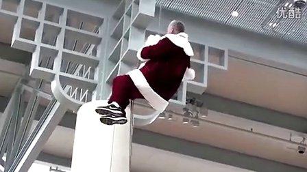 快圣诞节了·看看傻缺的圣诞老人··