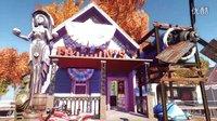 《辐射4》玩家创造《生化奇兵》极乐城
