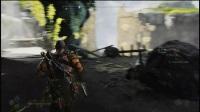 《战神4》剧情向全区域100%流程视频22.石瀑布100%