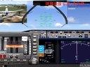 模拟飞行10fsx广州降落(出事故了)