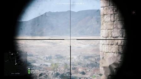战地5各狙击子弹下坠实况测试