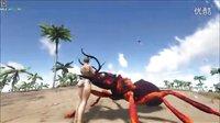 【峻晨解说】起源MOD终极介绍1-蚁人!可以乘骑的巨型飞蚁,会飞翔的精英驯鹿、-方舟生存进化