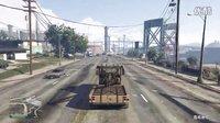 GTA5主线全金牌攻略30 闪电突击准备2 拖车 面具