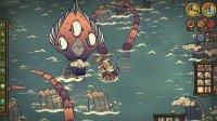 《饥荒》海难DLC新人物海盗船长WOODLEGS实况试玩第十期:怪物蛋挞!