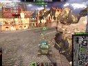 坦克世界开局残血XX的处理 百夫长7 2V7逆转!