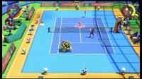 《马里奥网球Ace》娱乐联机实况解说视频 part2