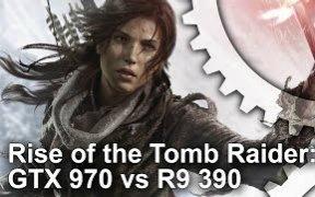 古墓丽影10崛起 PC版性能测试 GTX970 VS R9 390 1080P