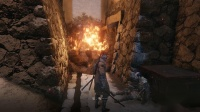 《只狼》全十串佛珠40个佛珠位置6.源之宫+苇名城大火出现的小boss