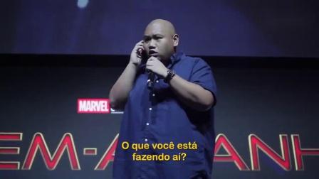 【游侠网】《蜘蛛侠2》巴西漫展发布会1