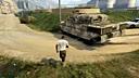 GTA5实力偷坦克,安逸无伤,轻轻松松虐警察