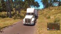 【电玩堂】小猪《美国卡车模拟》加州阳光海岸旧金山开跑-1