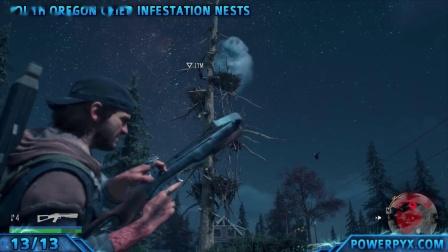 《往日不再》全收集+白金奖杯视频攻略3.全异变者感染区巢穴位置