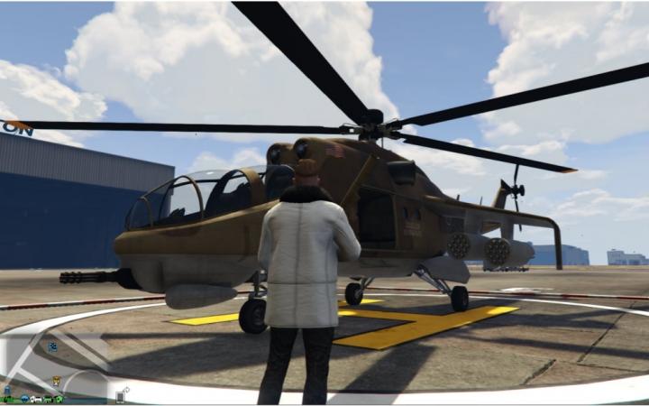 【GTA5PVP】野人一对多战术首测!附:跳伞滑翔钻洞视频!(当然,这次先不给教程~)