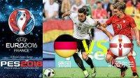 激情解说!实况足球2016欧洲杯德国vs北爱尔兰pes2016