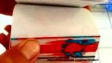 逆天的书角动画-超人大战超级赛亚人