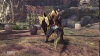 《怪物猎人世界》冰原DLC五种金狮子武器演示