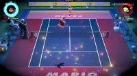 《马里奥网球ACE》DEMO全角色必杀技合集1.马里奥必杀技