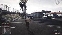 老戴在此《GTA5 联机死斗》03 逃亡之路 个人战(超激烈)