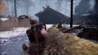 《战神4》第一场BOSS战打法视频攻略
