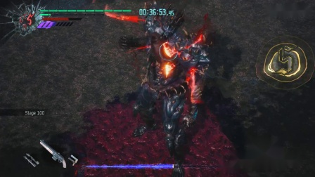 《鬼泣5》血宫通关视频合集100层尤里森