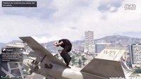【游侠网】《侠盗猎车手5》搞笑空难