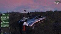 坑爹哥实况 GTA5《洛圣都智障双侠历险记》第五集:捉鬼天使开飞机