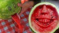 电钻吃西瓜? 那些不忍直视的吃西瓜方式 12