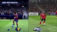 FIFA19和实况2019对比视频合集02.花式动作