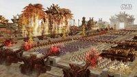 《西楚霸王》开战前的震撼一幕,外邦军队极度惶恐