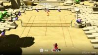 《马里奥网球Ace》单人剧情实况全流程解说视频 - 1.泰阳神殿