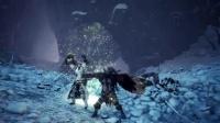 【游侠网】《怪物猎人世界》DLC冰原 狩猎笛+大锤动作演示