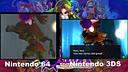 【游侠网】《塞尔达传说:姆吉拉的假面》3DS与N64画质对比