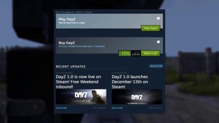 DAYZ正式版新特性和更多物品