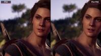 【游侠网】《刺客信条:奥德赛》PS4和PS4 Pro帧数、画面对比