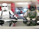 BBC男女主播穿星球大战服装播报新闻