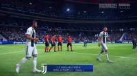 《FIFA 19》大巴黎对阵尤文图斯演示