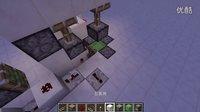 [Minecraft红石小教室]只能从下面过的门