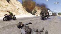 骑着摩托炸飞机 国外《GA5》玩家花样百出