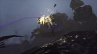 《古剑奇谭3》试玩版简单模式boss战打法视频合集3.第一场BOSS战 会闪就行
